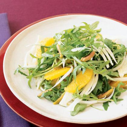 Arugula, Satsuma, and Fennel Salad