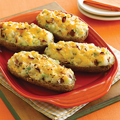 Cheesy Twice-Baked Potatoes