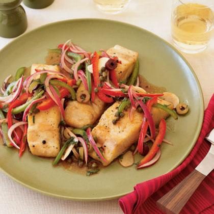 Grilled Mahi-Mahi with Escabeche Sauce