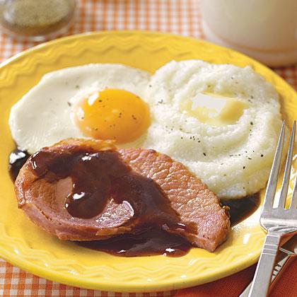 Ham with Red-eye Gravy