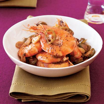 Chile-Roasted Shrimp