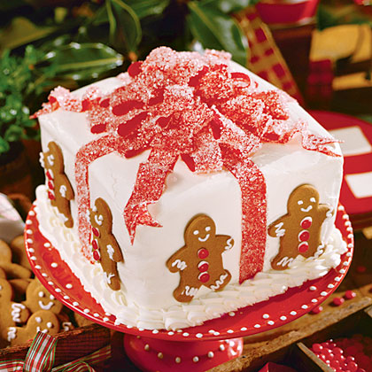 Gift box cake recipe myrecipes gift box cake negle Image collections