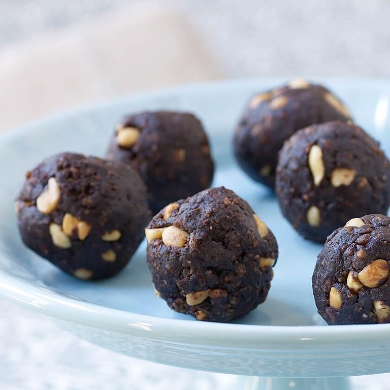 Chocolate-Peanut Butter Balls