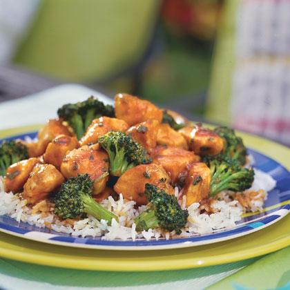 Orange-Basil Chicken Recipe