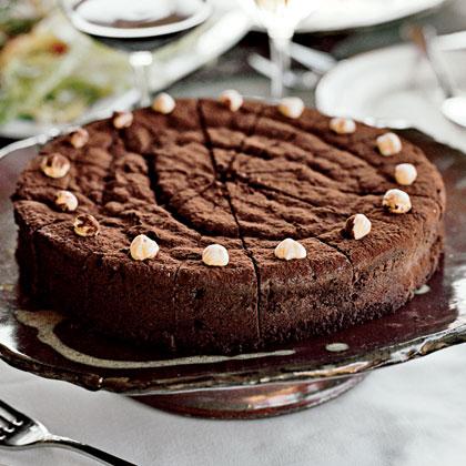 Chocolate-Bourbon Cake