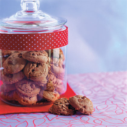 Peanut Butter-Cocoa Cookies