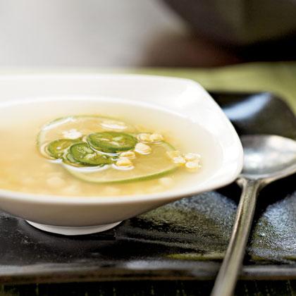 Asian Corn Soup Recipe