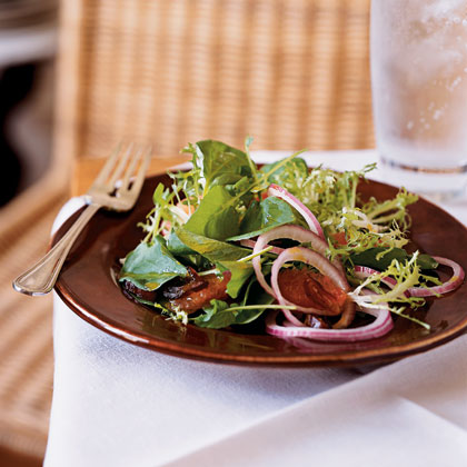 Watercress, Frisée, and Grapefruit Salad with Curry Vinaigrette