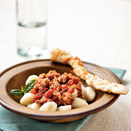 Gnocchi with Turkey Ragù Recipe