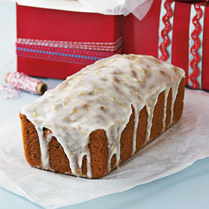Lemon Verbena-Walnut Loaf Cake