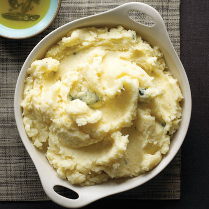 Sage-infused Mashed Potatoes and Parsnips