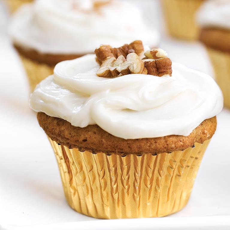 Sweet Potato Pecan Cupcakes Amp Cream Cheese Frosting Recipe