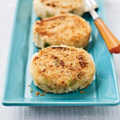 Crisp Mashed Potato Cakes