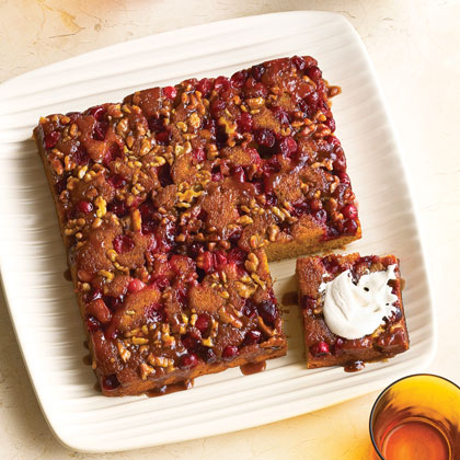 Cranberry Pumpkin Upside-down CakeRecipe