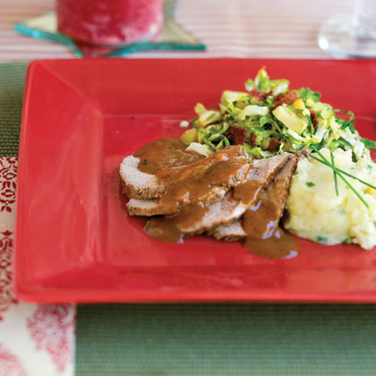 Holiday Roast With GravyRecipe