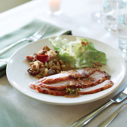 Juniper-and-Herb Roast Turkey