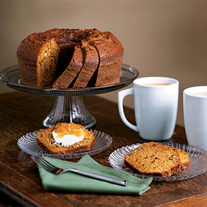 Sweet Potato-Pecan Cake Recipe