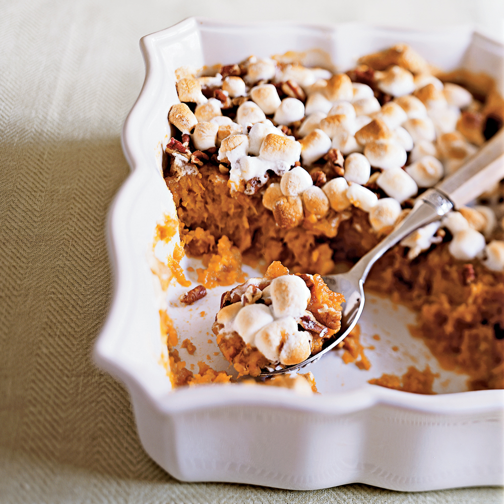"""This has been my go to recipe for Thanksgiving and Christmas sweet potatoes! It is easy and such a better choice than traditional recipes. I agree with another review that I have trouble determining how many sweet potatoes to use.."" —rebelfanTraditional Sweet Potato Casserole