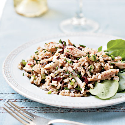 Turkey and Wild Rice Salad Recipe | MyRecipes