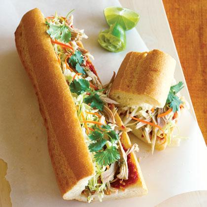 Vietnamese-style Turkey SubsRecipe