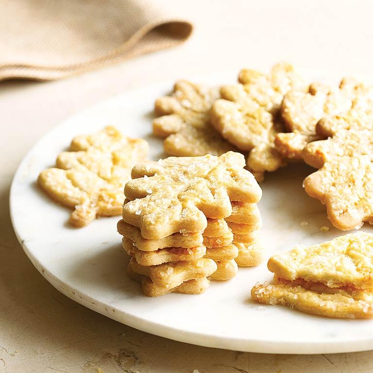 Vanilla-bean Leaf Cookies