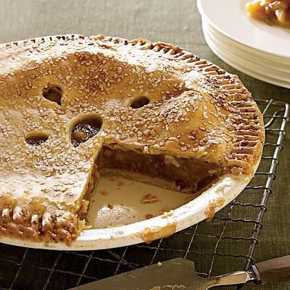 Surprisingly Light Apple Pie