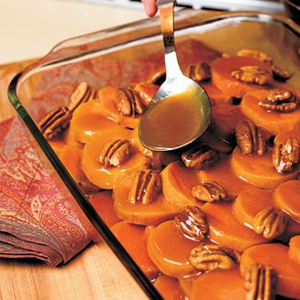 Citrus Sweet Potato Rounds