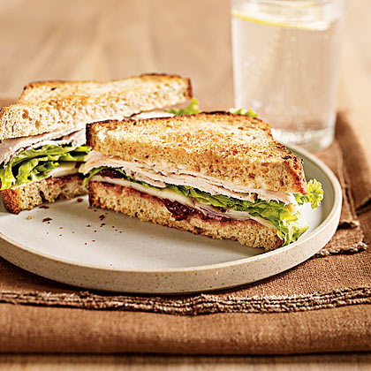 Turkey Sandwich With Spicy Cranberry Spread Recipe