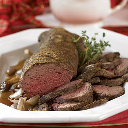 Beef Tenderloin with Shallot Sauce Recipe