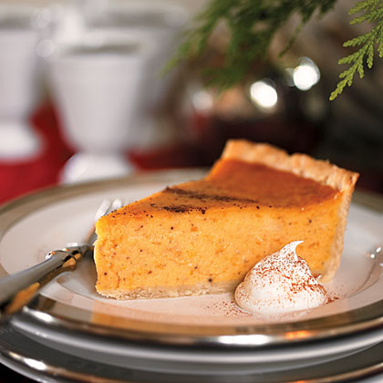 Cardamom-Scented Sweet Potato Pie Recipe