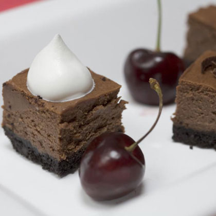 Chocolate Royal Cheesecake Squares