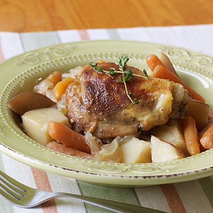 Slow-Cooker Chicken Thighs Recipe