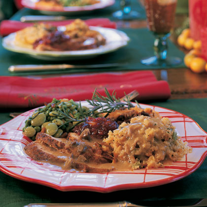 Ultimate Southern Christmas Dinner MenuThe holidays are a perfect time to satisfy your down-home, comfort food cravings. This scrumptious collection of dishes highlights Southern classics like Giblet Gravy, Cornbread-Biscuit Dressing, and Swiss-Squash Casserole.