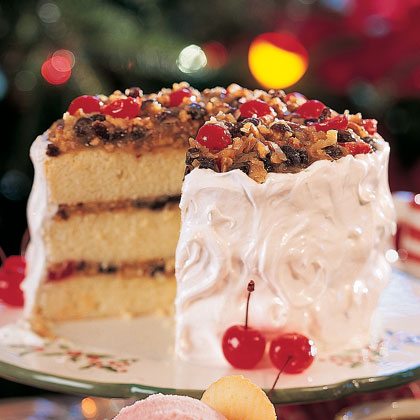 Holiday Lane Cake Recipe | MyRecipes