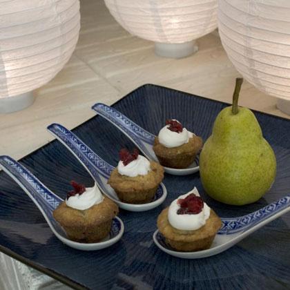 Petite Pear Cakes