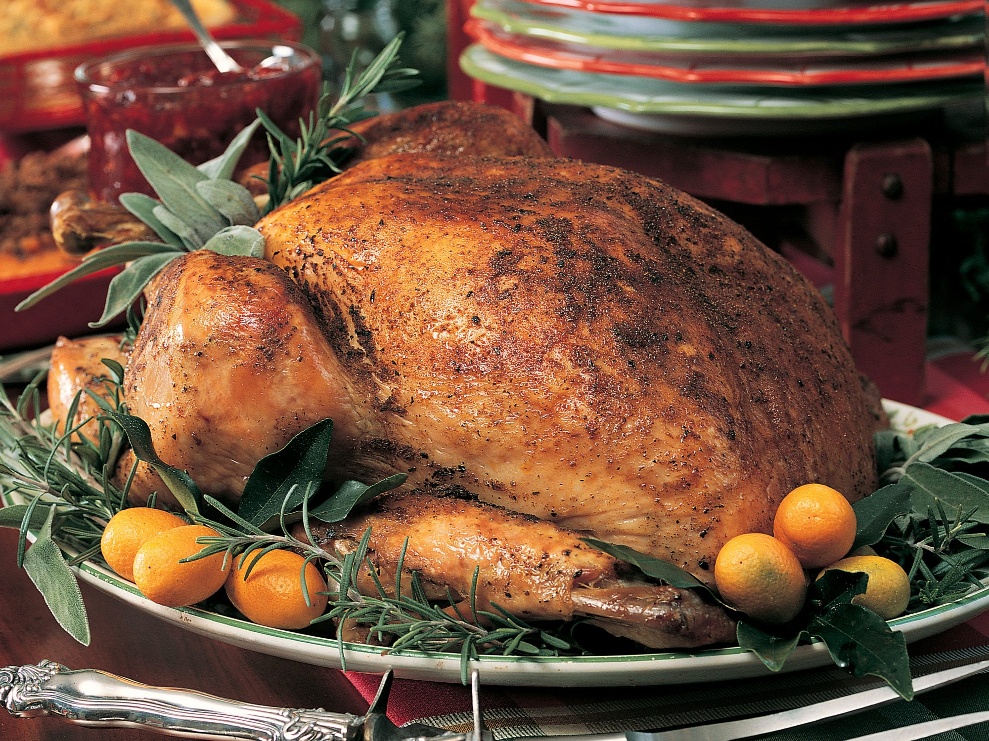 Seasoned Roast Turkey