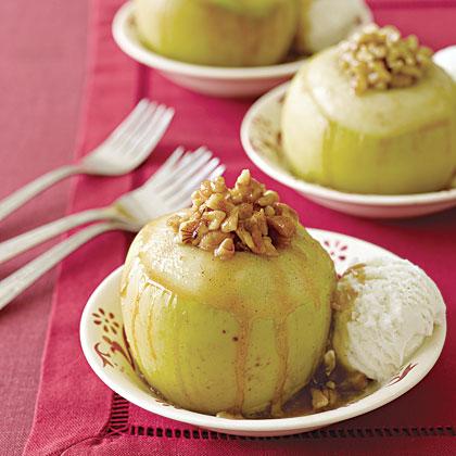 Baked Apples à la Mode
