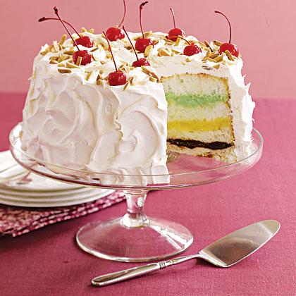 Colorful Layer Cake Recipe
