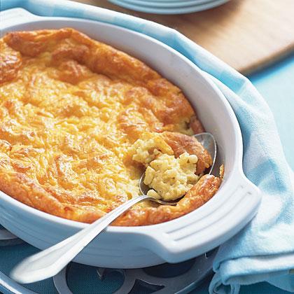 Cheesy Corn Spoon Bread Recipe