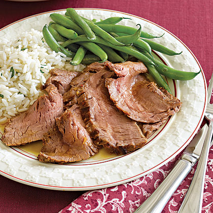 Thai-Marinated Broiled Flank Steak