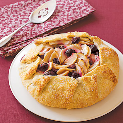 Wrapped-Up Apple-Blackberry Pie Recipe
