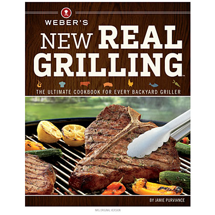 Cookbooks for Giving: Weber's New Real Grilling