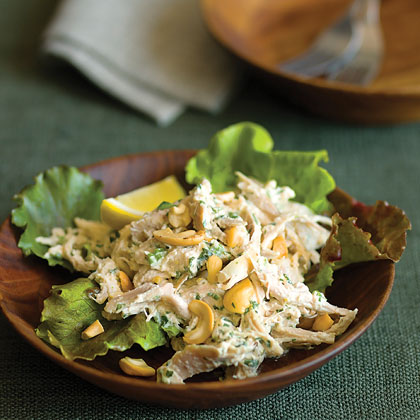 Lemon Cashew Chicken Salad Recipe