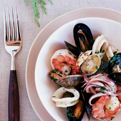 Mixed Seafood Salad (Insalata ai Frutti di Mare)Recipe
