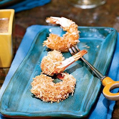 Breaded Shrimp with Honey-Mustard Sauce