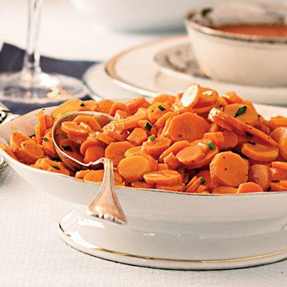 Maple-Tangerine Carrot CoinsRecipe