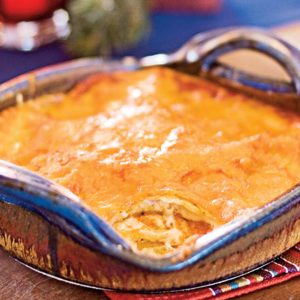 Red Chile-Cheese Enchiladas Recipe