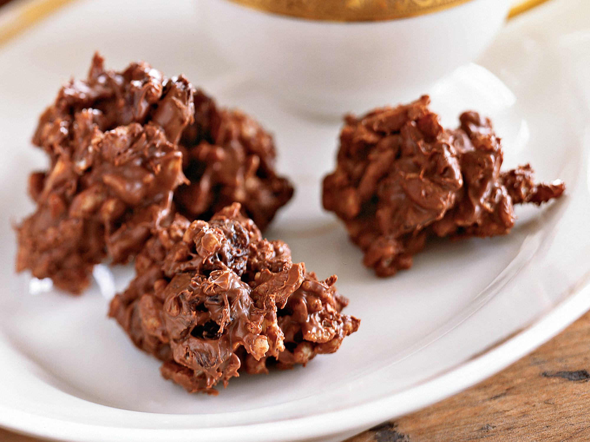 Chocolate Almond Cherry Crisps