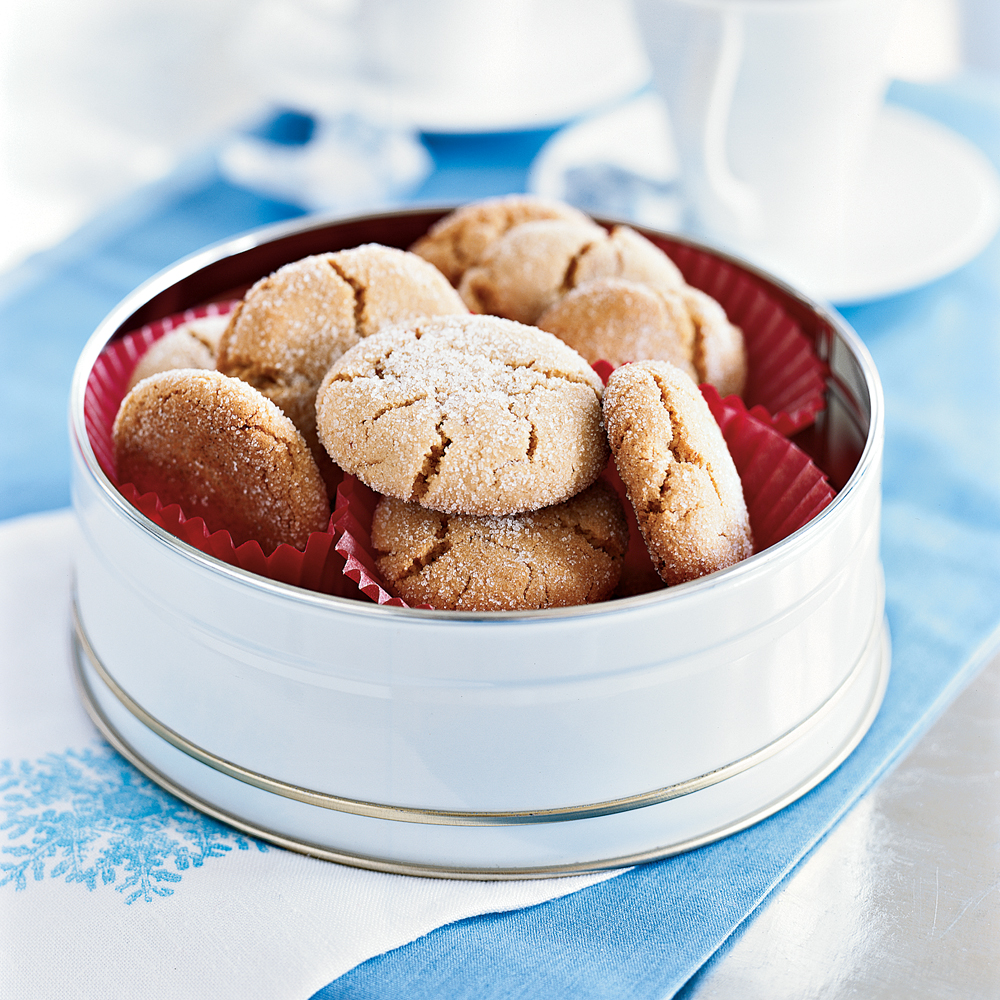 Crunchy Sesame Cookies RecipeThese sweet treats taste similar to peanut butter cookies, but they get their rich nutty flavor from sesame-seed paste and sesame oil instead.
