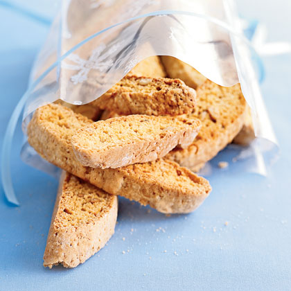 Pine Nut Biscotti RecipeCrunchy and lightly sweet, these are great with espresso or French roast coffee after dinner. Though any nuts will work, pine nuts offer sophisticated taste.